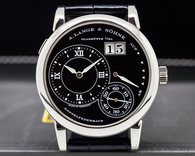 A. Lange and Sohne Lange 1 Luminous 18K White Gold RARE
