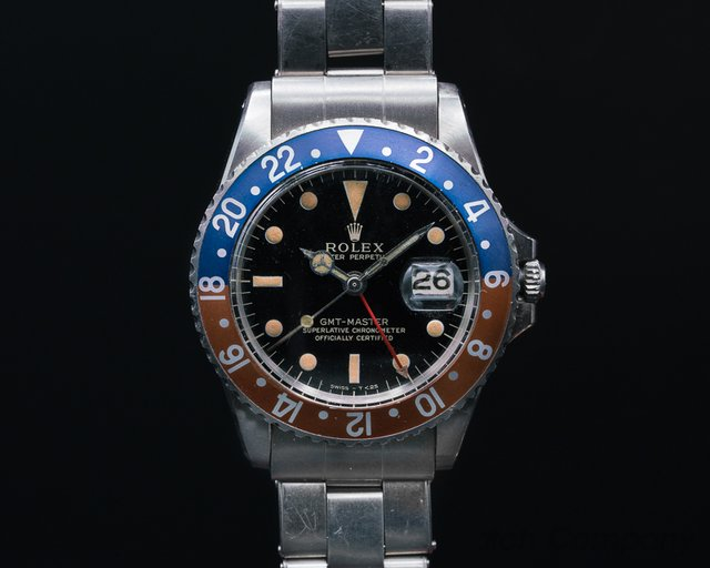 Rolex Gilt Glossy GMT Master INCREDIBLE CONDITION