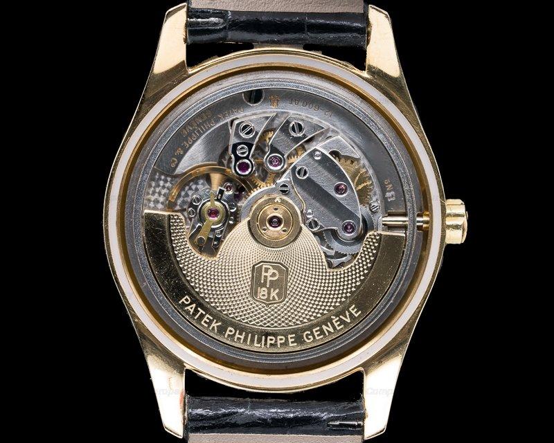 Patek Philippe 2526 Enamel Dial Automatic Radium Indexes / Unique Bracelet