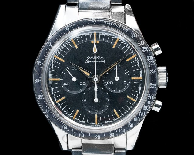 Omega 2998-61 Speedmaster 2998 - 61 Second Gen FADED BEZEL WOW