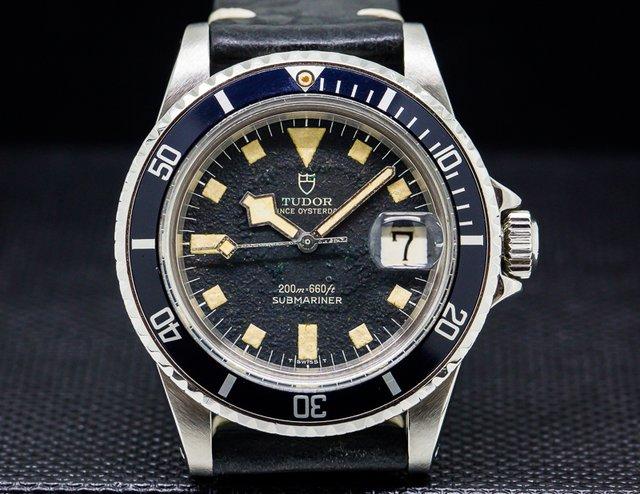 "Tudor Submariner Black Matte Dial ""Snowflake"" SS"