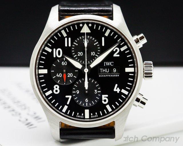 IWC Flieger Pilot Chronograph SS
