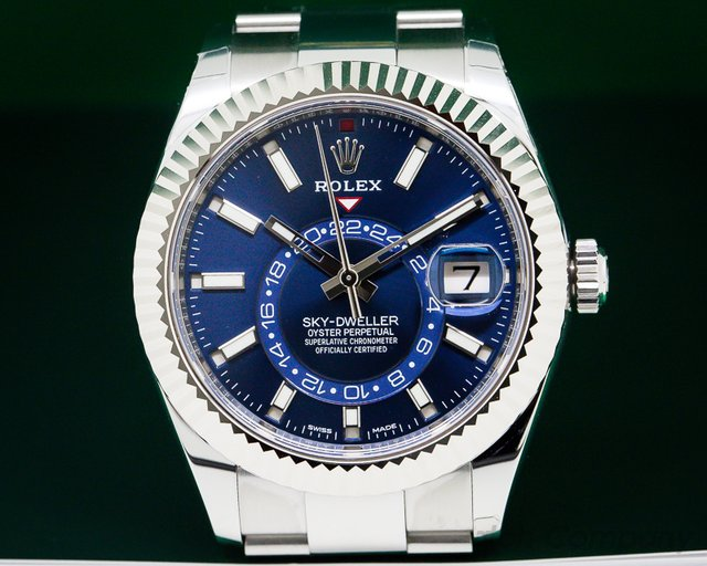 Rolex Sky Dweller Steel Blue UNWORN