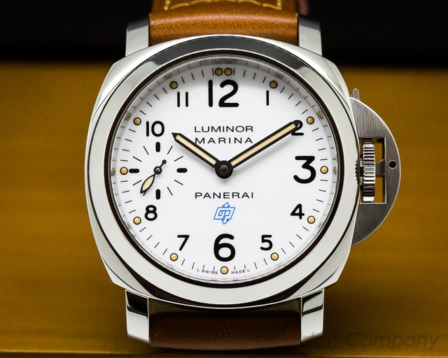Panerai Luminor Marina White Dial Manual 44MM