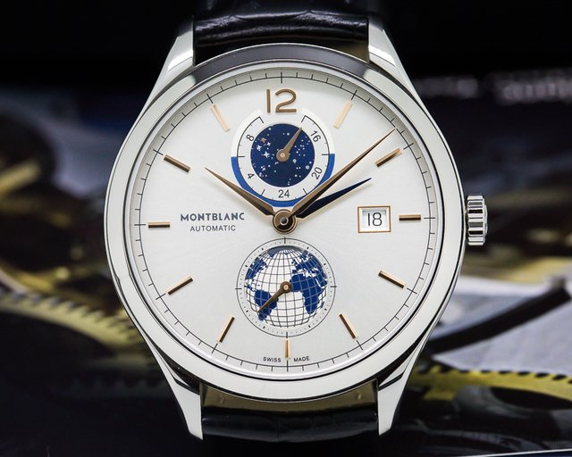 Montblanc Heritage Chronometrie Dual Time Vasco da Gama