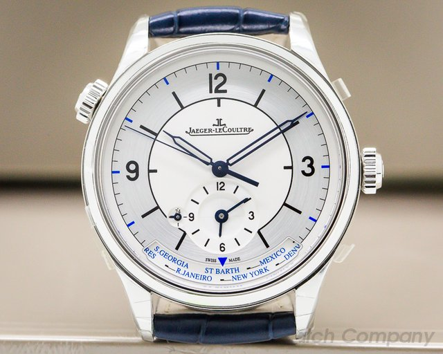 Jaeger LeCoultre Master Geographic SS Sector Dial 39MM UNWORN