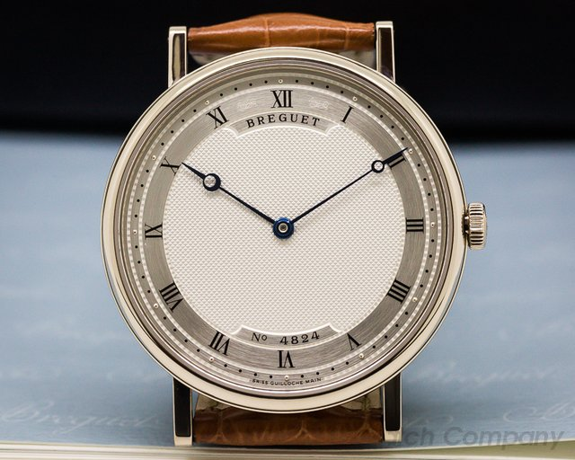 Breguet Classique Automatic Ultra Slim White Gold