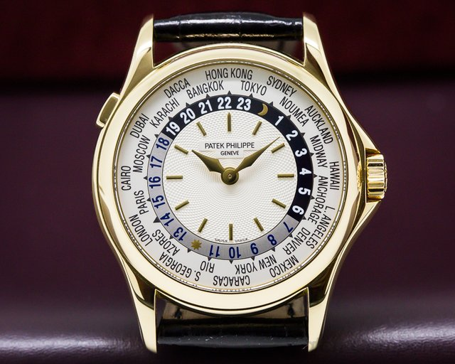 Patek Philippe World Time 18K Yellow Gold