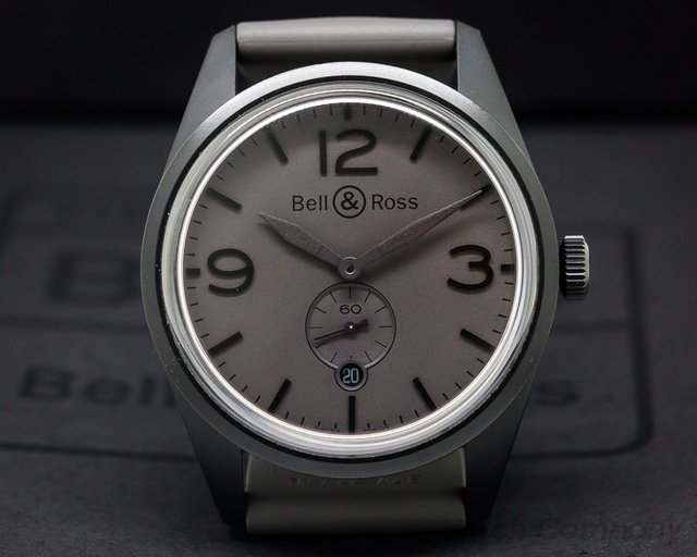 Bell & Ross Vintage BR123 Commando Silver Dial