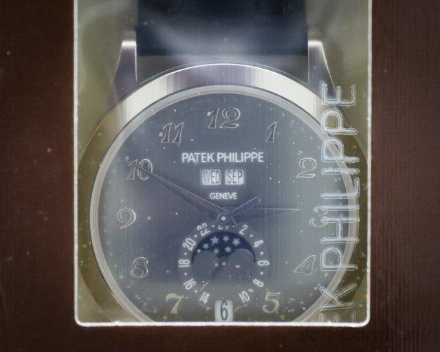Patek Philippe Annual Calendar White Gold Grey Dial UNWORN