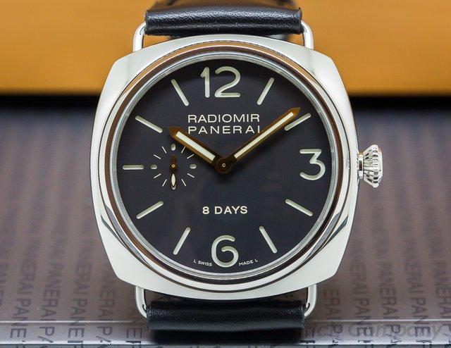 Panerai Radiomir 8 Days Manual Wind SS