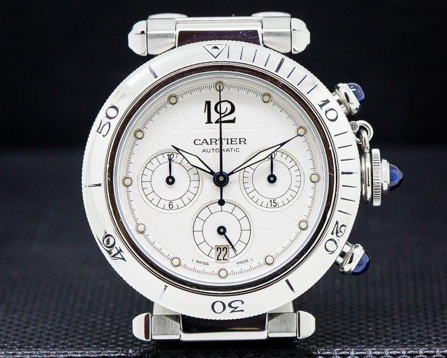 Cartier Pasha Chronograph SS / SS