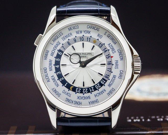 Patek Philippe World Time 18K White Gold