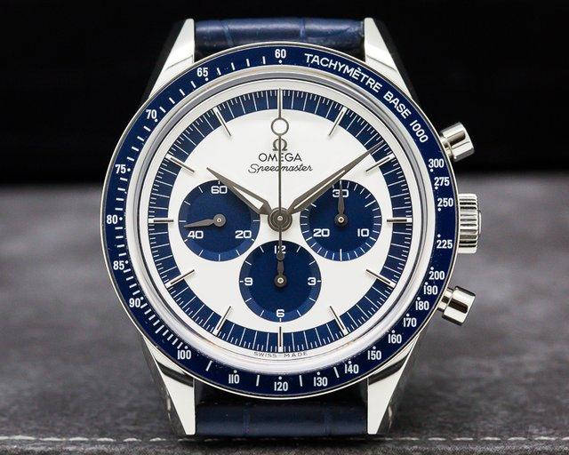 Omega Speedmaster CK 2998 Silver / Blue Dial LIMITED