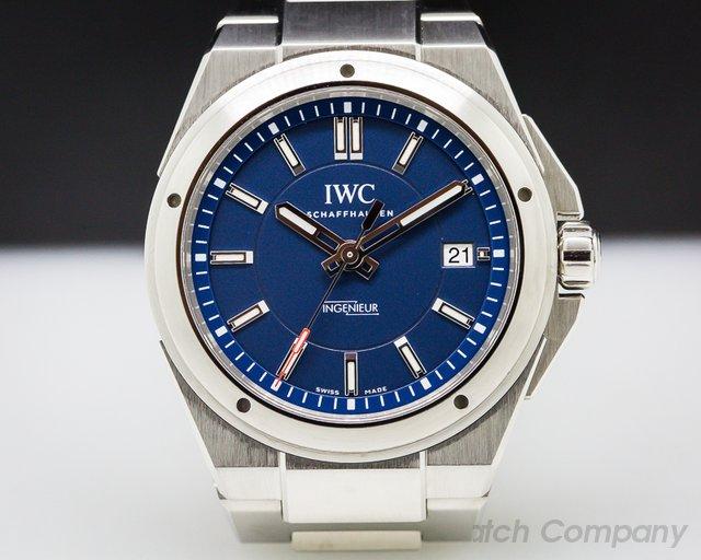 IWC Ingenieur Laureus Blue Dial Limited SS