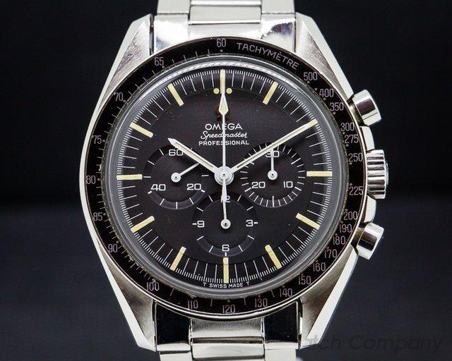 Omega Vintage Speedmaster Professional SS / 1039 Bracelet OUTSTANDING
