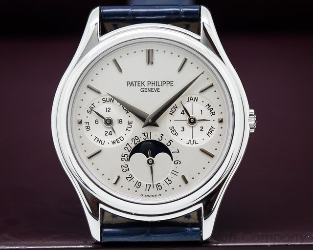Patek Philippe Perpetual Calendar Platinum FULL SET / PP Service
