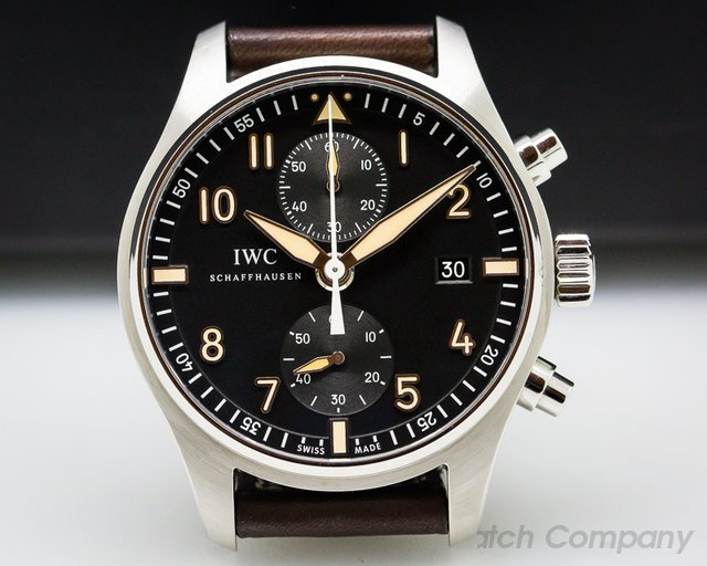 "IWC Pilot Chronograph Collectors Watch ""CF3"""