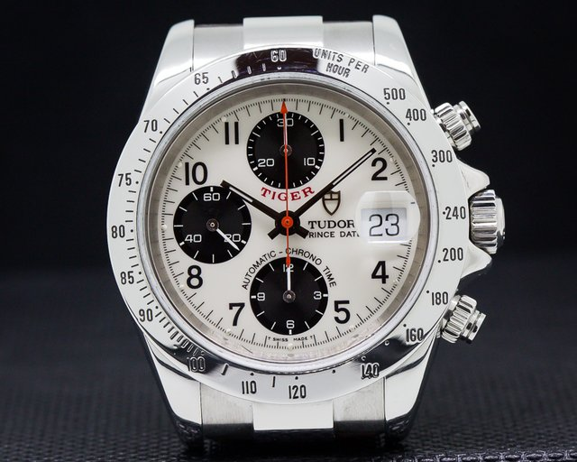 Tudor 79280 Tudor Tiger Chronograph SS / Leather
