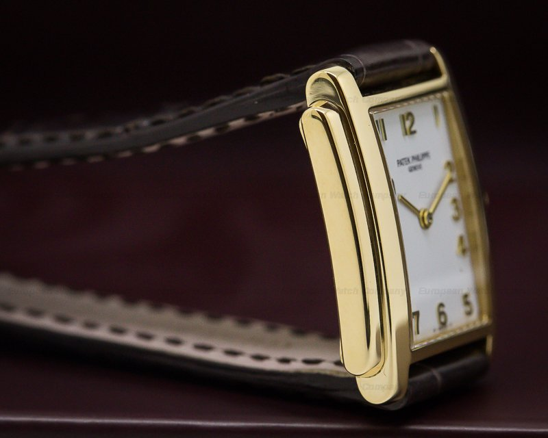 Patek Philippe 4824J-011 Ladies Gondolo 18K Yellow Gold / Deployant