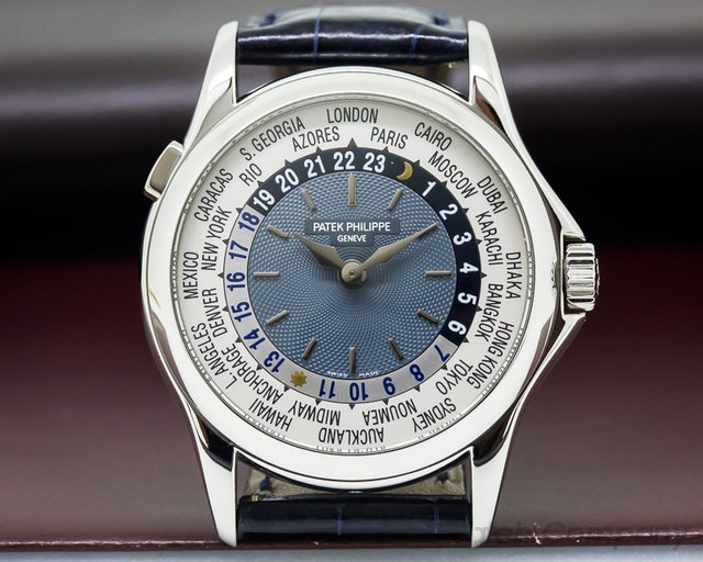 Patek Philippe World Time Platinum