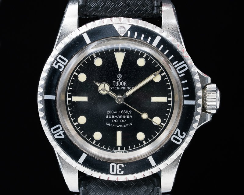 "Tudor 7928 Vintage Submariner ""Rose Logo"" Gilt Chapter Ring FANTASTIC"