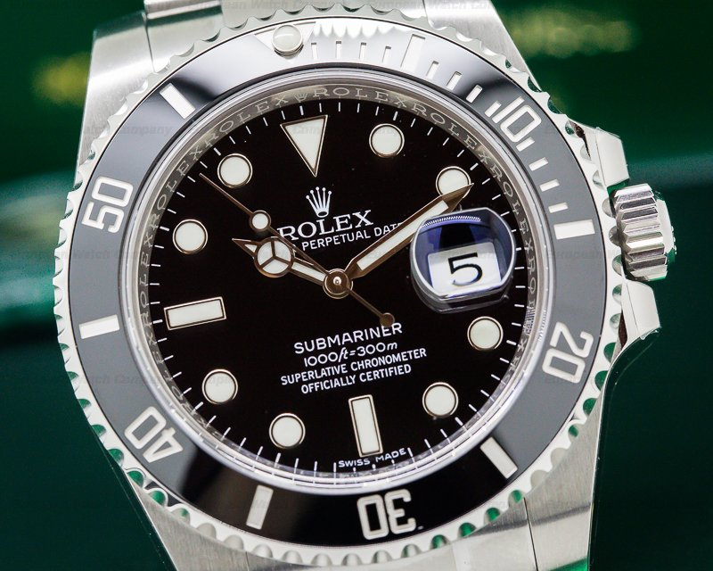 Rolex 116610LN Submariner Ceramic with Date SS UNWORN