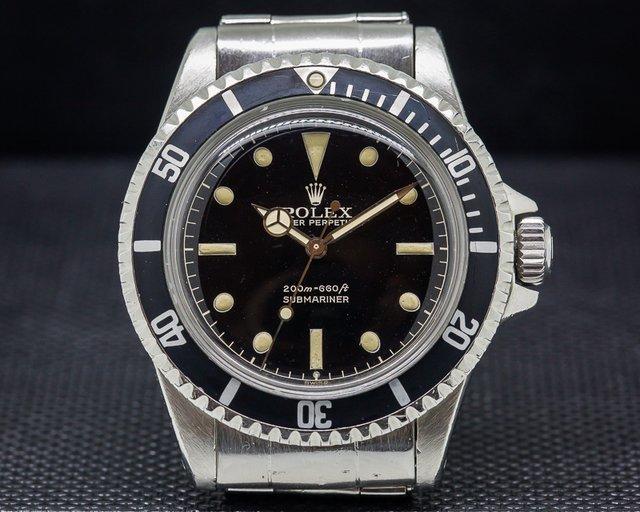 Rolex Submariner 5512 Gilt Chapter Ring FULL GLOSS DIAL