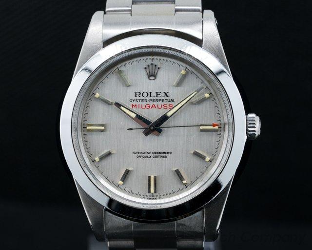 Rolex Vintage Milgauss Silver Dial