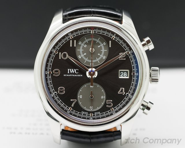 IWC Portuguese Chronograph Classic SS / Grey Dial