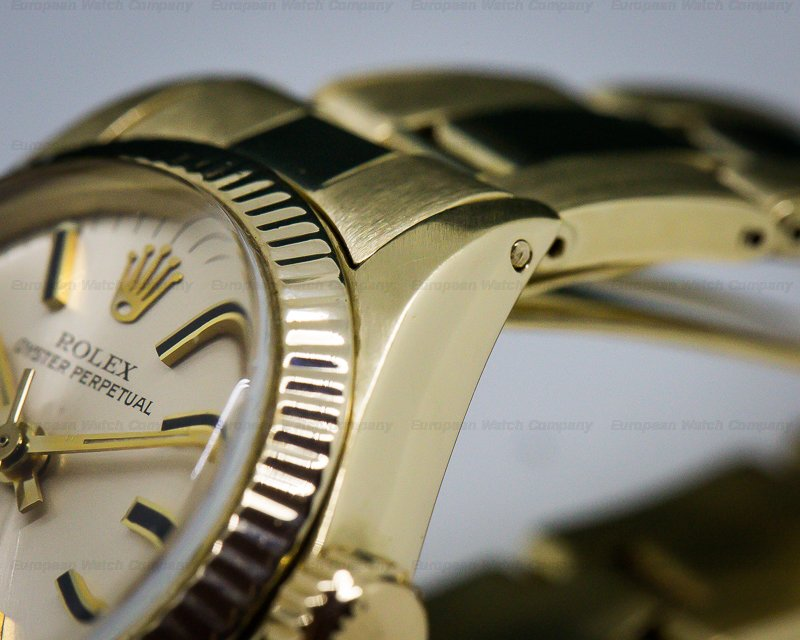 Rolex 6719 Oyster Perpetual Ladies Yellow Gold