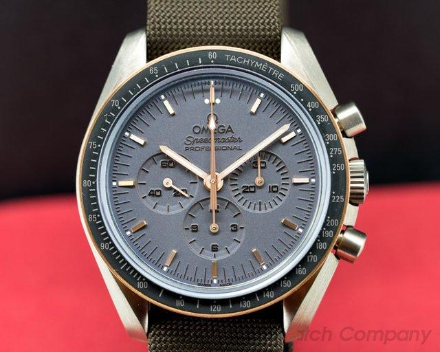 Omega Apollo 11 Speedmaster Moonwatch Titanium / 18K Rose Gold