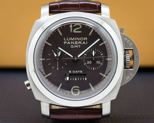 Panerai PAM00311 Luminor 1950 Chrono Monopulsante 8 Days GMT