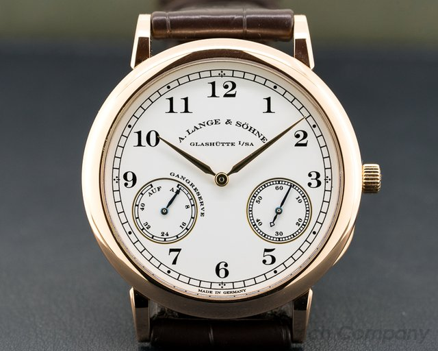 A. Lange and Sohne 223.032 1815 Up & Down Walter Lange Limited 18K Rose Gold
