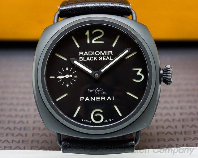 Panerai PAM292 Radiomir Black Seal Ceramic TORPEDO PIG DIAL 45MM