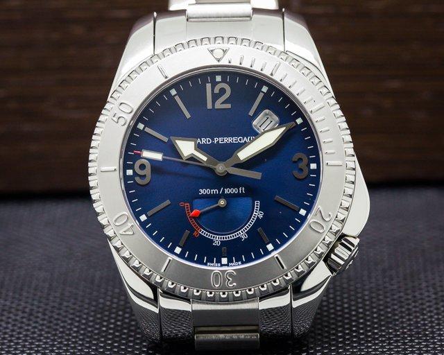 Girard Perregaux Sea Hawk II Blue Dial SS
