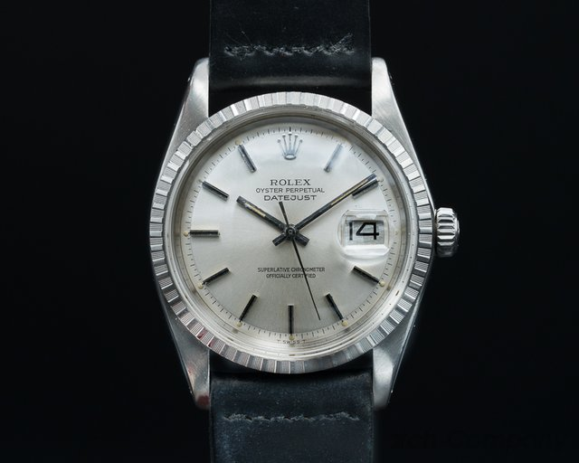Rolex 1600 Oyster Perpetual Steel / Silver Dial