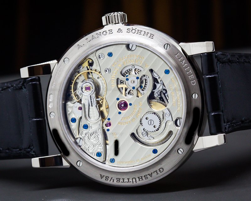 A. Lange and Sohne 260.028 Richard Lange Pour Le Merite 18K White Gold LIMITED