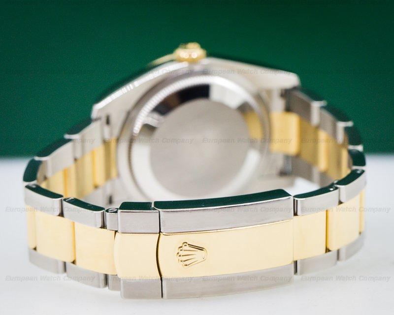 Rolex 116243 Datejust MOP Dial Diamond Bezel 18K/SS