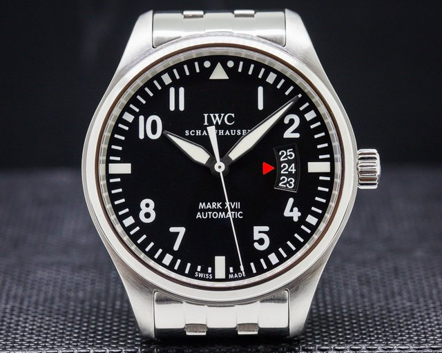 IWC Mark XVII Black Dial SS / SS