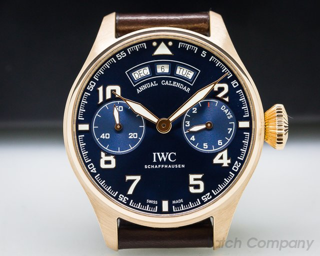 "IWC Big Pilot Annual Calendar Edition ""Le Petite Prince"" 18k Rose Gold"
