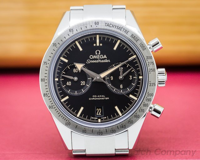 Omega Speedmaster '57 Co-Axial SS / SS Black Dial