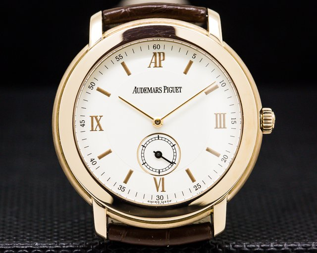 Audemars Piguet 15056OR.OO.A001CR.01 Jules Audemars 18k Rose Gold Manual Wind