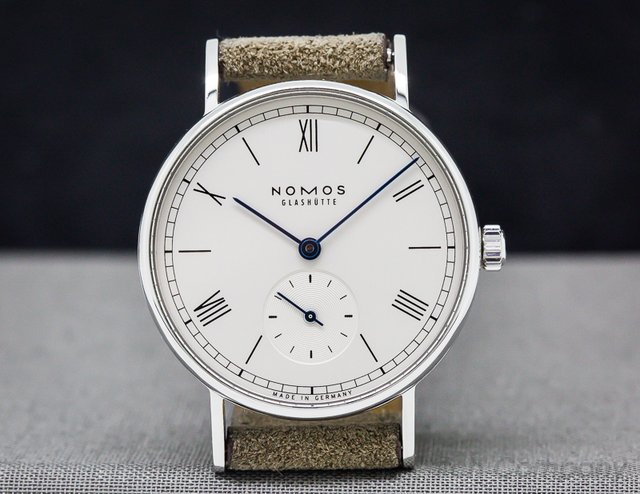 Nomos Ludwig 33mm Manual Wind Display Back
