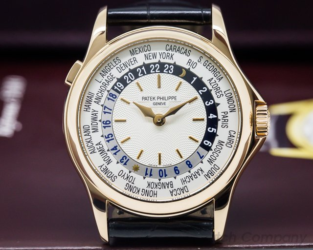 Patek Philippe 5110R-001 World Time 18K Rose Gold