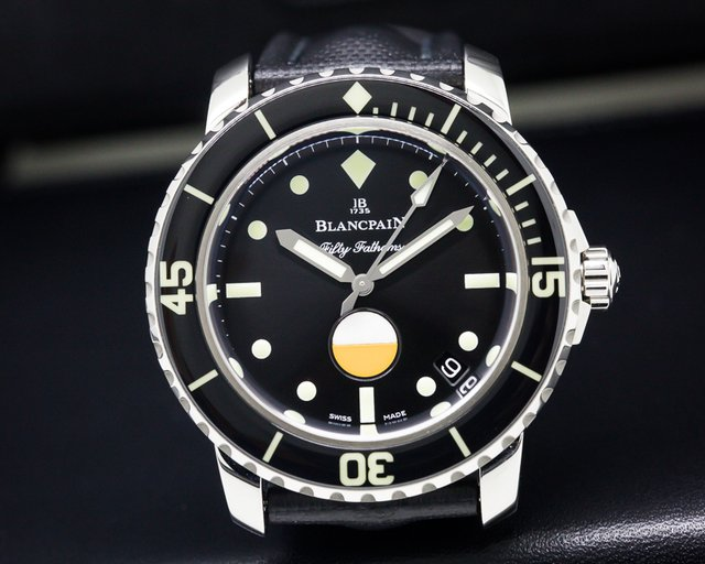 Blancpain Tribute to Fifty Fathoms Mil-Spec SS LIMITED