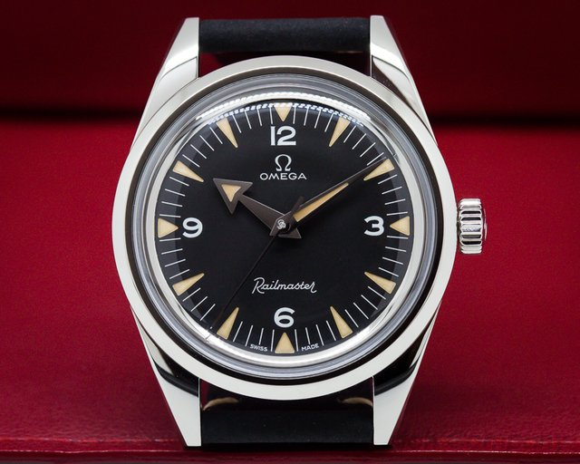 Omega Railmaster 1957 Trilogy LIMITED EDITION