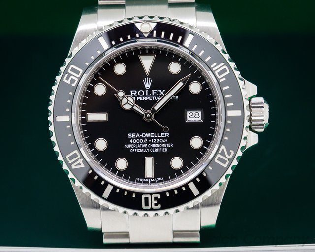 Rolex Sea Dweller 4000 SS / SS DISCONTINUED