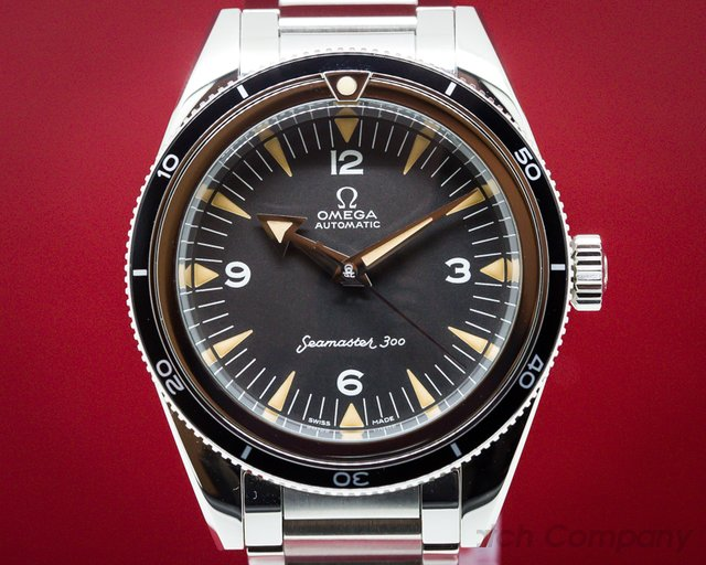 Omega 234.10.39.20.01.001  Omega Seamaster 300 - 60th Anniversary Limited Edition Trilogy