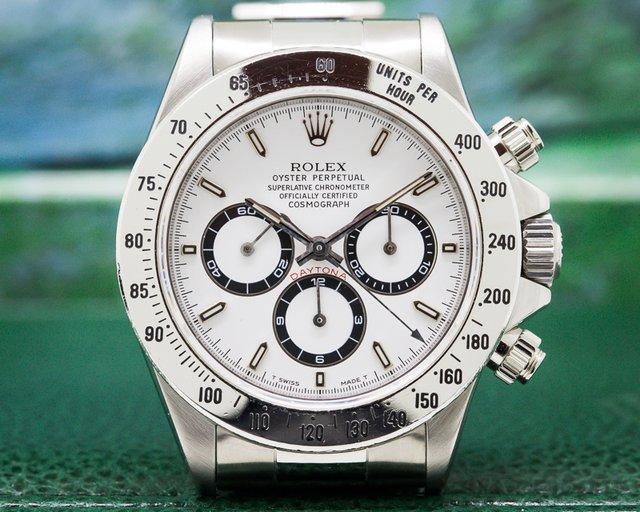 Rolex 16520 Daytona SS White Dial Zenith Movement T Series COMPLETE